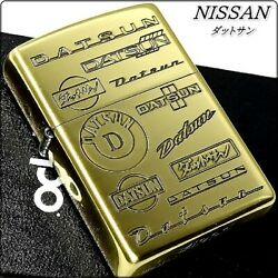 Zippo Nissan Official Recognition Datsun Emblems Of The Past Brass