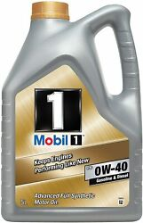 Mobil 1 10w-40 Fs Advanced Full Synthetic Engine Oil - 5l