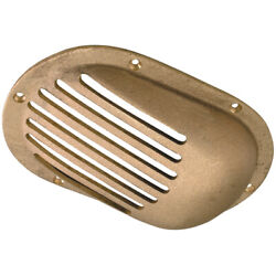 0066dp3plb Perko 6-1/4 X 4-1/4 Scoop Strainer Bronze Made In The Usa