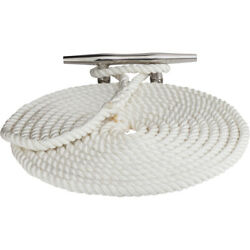 301112050wh-1 Sea-dog Twisted Nylon Dock Lock Line - 1/2 X 50and039 - White