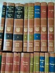 Britannica Great Books Of The Western World - Complete 54 Book Set - 1952