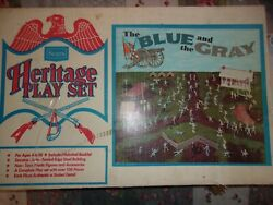 Marx Heritage Civil War The Blue And The Gray Playset