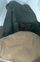 Tm1985 Green Top Loading Duffle Bag Military New With Tag Usa