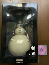 Jun Planning Nightmare Before Christmas Snowman Jack Collection Doll Fedex