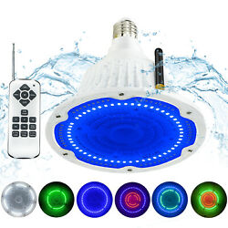 40w 12v-rgb+white Led Pool Light Bulb Replacement For Pentair And Hayward Ip65