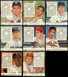 1954 Red Man Partial Complete Set - W/ Tabs 3.5 - Vg+