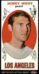 1969 Topps 90 Jerry West Lakers Wvu 4 - Vg/ex