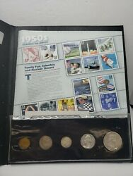 1950s A Century Of United States Coins And Stamps 90 Silver