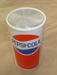 Vintage 1970's Pepsi Cola Soda Can Am Transistor Radio Tested Working