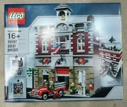 Retired Lego Creator Fire Brigade 10197 - 2009 Discontinued Never Opened