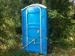 Blue Polyjohn Portable Toilet / Restroom Local Pickup Only