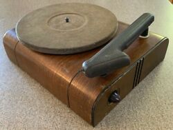 Vintage Rca Victor 78 Rpm Record Player Model V-5a 1941