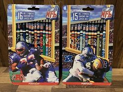 1998 Vintage Nfl Pentech No2 Pencils American And National Conference Teams