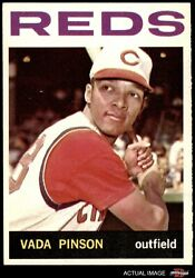 1964 Topps 80 Vada Pinson Reds 6 - Ex/mt