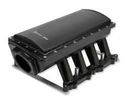 Sniper Efi Fabricated Race Series Intake Manifold 2011-14 Ford 5.0l Coyote Black