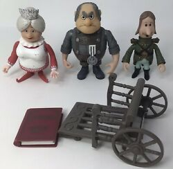 Lot Of Santa Claus Is Comin' To Town Action Figures Lot Tanta Burgermeister +
