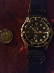 Citizen Divers Mens Watch Old Wrist Watches And Band
