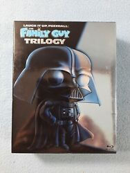 Laugh It Up, Fuzzball The Family Guy Trilogy Blu-ray Box Set Star Wars
