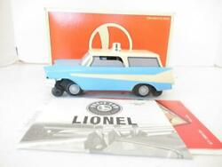 Lionel- 18454- Archive Collection Blue Inspection Car 0/027- Boxed - S26