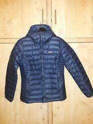 Womenand039s Down Sweater Hoody Jacket Classic Navy Blue Size Medium