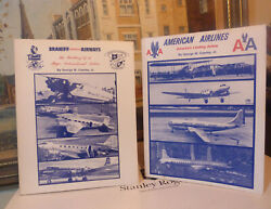 Braniff Airways + American Airlines Books Signed George W. Cearley, Jr