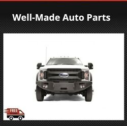 Fab Fours Front Winch Bumpers For 17-18 Ford F-450/550 Sd - Fs17-a4251-1