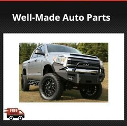 Fab Fours Tt14-h2852-1 For Toyota Tundra 2014-2017 Premium Winch Front Bumper