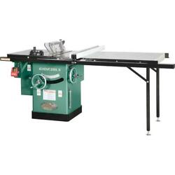 Grizzly G1023rlx 10 3 Hp 240v Cabinet Table Saw With 7and039 Rails