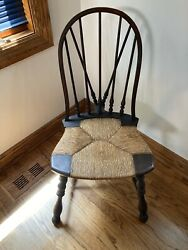 Antique Vintage Wood Windsor Arm Chair Sikes Chair Co Buffalo Ny Pattern 1360