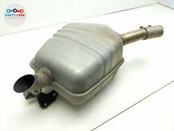 2017-2020 Land Rover Discovery L462 Rear Right Exhaust Muffler Baffle Tail Pipe
