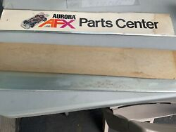 Vintage Lot Of 2 Aurora Afx Parts Center Part Of Store Display From 1970andrsquos Read