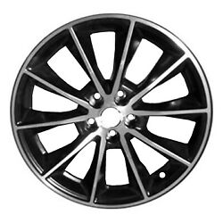 Oem Remanufactured 19 X 8.5 Alloy Wheel Machined And Black-10032