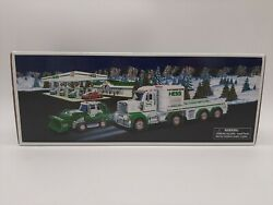 2013 Hess Gas Toy Truck And Tractor Brand New In Box