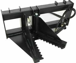 Heavy Duty Post And Tree Puller Spade Cutter And Dig For Skid Steers Universal