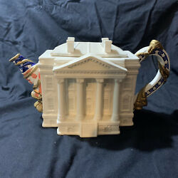 Fitz And Floyd Famous Landmarks Of The World Teapot - The White House