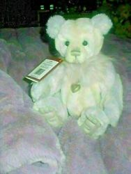 Charlie Bear Linda Tags On Wears A Heart Around Her Neck Padded Paws