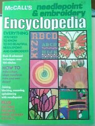 Vintage Book, Mc Calls Needlepoint And Embroidery Encyclopedia, How To Book