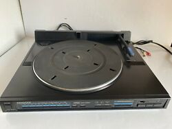 Kenwood Kd-75f Turntable Full Automatic Linear Tracking Dpss System