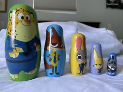 Zootopia Nesting Dolls Official Disney Collectible