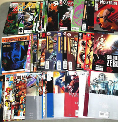 Mixed Random Lot Of 10 Comic Books 25 Year Old Collection. Possible Rare Books