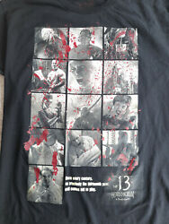 Howl-o-scream T-shirt Adult Size Large Busch Gardens The 13th Evil Halloween