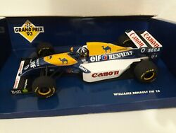 F1 Formule 1 Williams Renault Fw15c 1993 Hill 1/18 First Victory Hungary Transfo