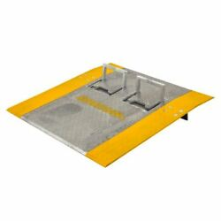 36 X 36 Guardian Aluminum Dock Plate With Handles