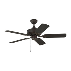 Monte Carlo Ceiling Fan 44 In. 5-blade Steel 3-speed Wet Rated Downrod Included