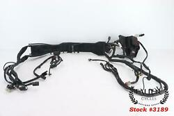 2009 Harley Electra Glide Touring Main Wiring Harness Efi Non-abs 70985-09 Test