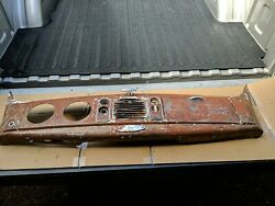 1938 Ford Standard Dash Panel Assembly Glove Box Door Coupe Sedan Barn Find