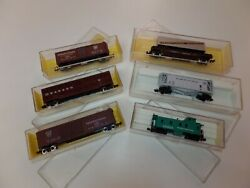 N Scale Lot Freight Cars Atlas