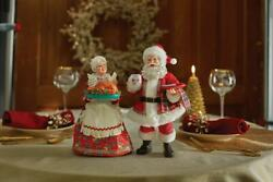 New 2021 Department 56 Possible Dreams Santa And Mrs. Claus All The Trimmings