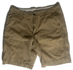 American Eagle Outfitters Mens Size 36 Beige Classic Length Cargo Shorts Brown