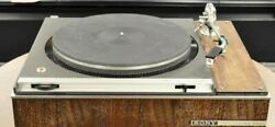 Record Player With Sony Ps-2000 / Ua-7 / At-10g Refurbished Turntable Used